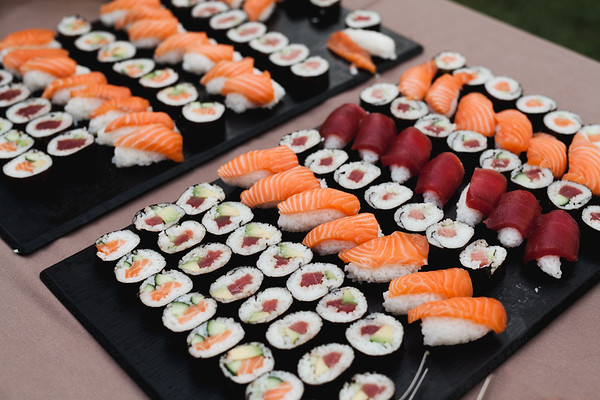Una Boda En La Noche De San Juan. Sushi Saó Catering