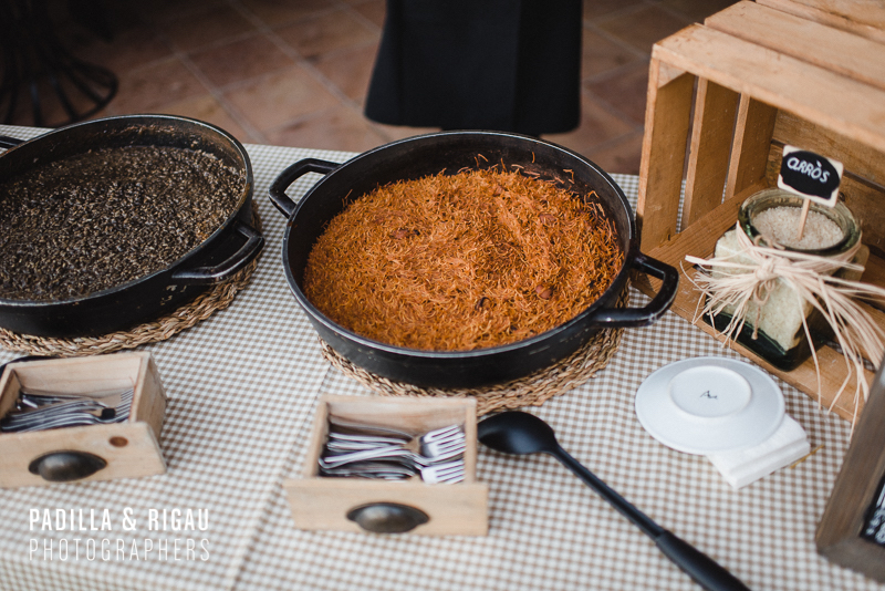 Saó Catering Madremanya Boda Especial M&K Paella